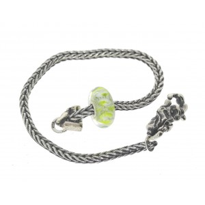 TSA18G-9 Trollbeads Art to Go Unique Green actie armband