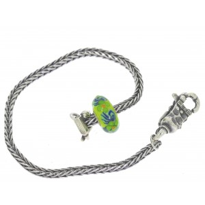TSA18G-10 Trollbeads Art to Go Unique Green actie armband