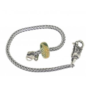 TSA18G-11 Trollbeads Art to Go Unique Green actie armband
