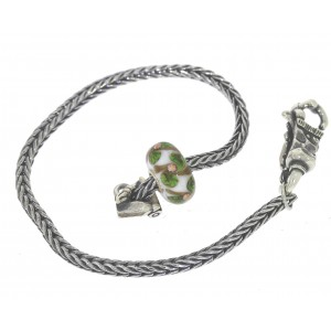 TSA18G-16 Trollbeads Art to Go Unique Green actie armband