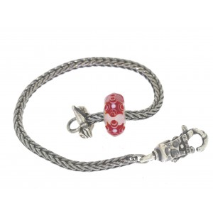 TSA18R-1 Trollbeads Art to Go Red/Pink Unique actie armband