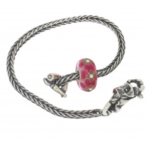 TSA18R-9 Trollbeads Art to Go Red/Pink Unique actie armband