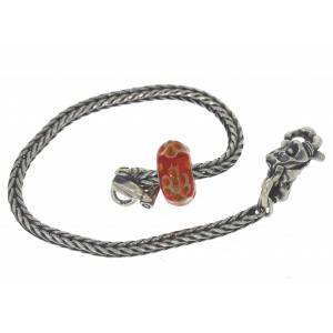 TSA18R-10 Trollbeads Art to Go Red/Pink Unique actie armband