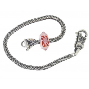 TSA18R-12 Trollbeads Art to Go Red/Pink Unique actie armband