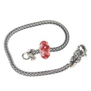 TSA18R-13 Trollbeads Art to Go Red/Pink Unique actie armband