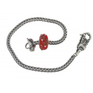 TSA18R-15 Trollbeads Art to Go Red/Pink Unique actie armband