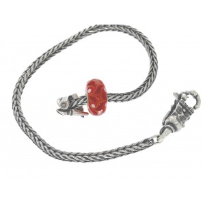 TSA18R-17 Trollbeads Art to Go Red/Pink Unique actie armband