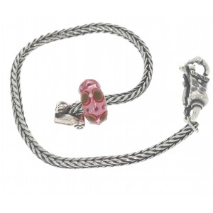 TSA18R-19 Trollbeads Art to Go Unique Red / Pink bracelet