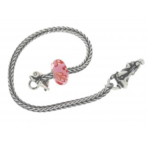 TSA18R-20 Trollbeads Art to Go Red/Pink Unique actie armband