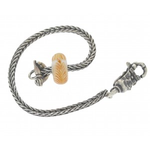 TSA18Y-3 Trollbeads Art to Go Unique Yellow/Brown actie armband
