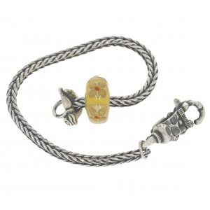 TSA18Y-6 Trollbeads Art to Go Unique Yellow/Brown actie armband