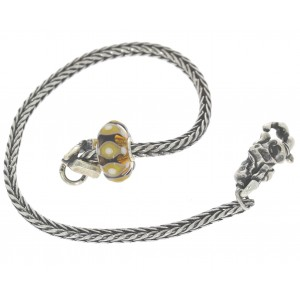 TSA18Y-8 Trollbeads Art to Go Unique Yellow/Brown actie armband