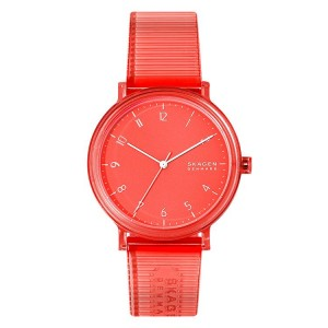 SKW6603 Montre Skagen Aaren Kulor Orange Silicone 41mm