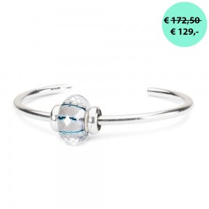 TROLLBEADS TSP2020C Maneschijn-facet Bangle ACTIE