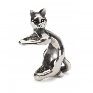 TAGBE-30153 Trollbeads Playful Cat