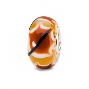 TGLBE-20127 Trollbeads Red Leaf