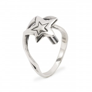 TAGRI-00512-00523 Trollbeads Lucky Stars Fantasy Ring