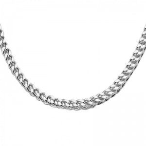 CO1138W45 Necklace white 18 kt